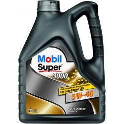 Масло Mobil super- 3000 5w40 SJ/SL/SM/CF (4л)